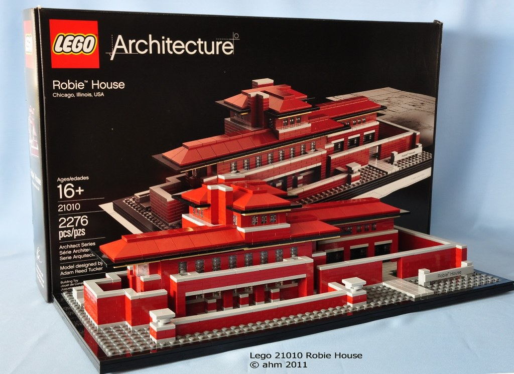 lego 21010 robie house - a photo on flickriver