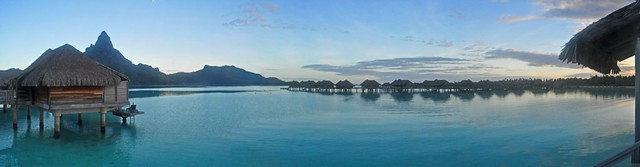 Bora Bora Intercontinental Thalasso Spa - Morning Panorama