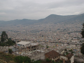 City overview of Quito