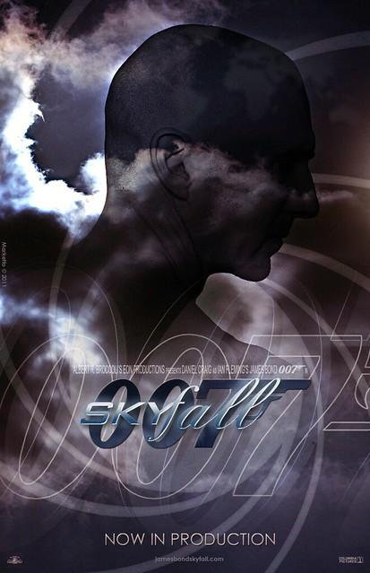 """""""Skyfall"""" Teaser Poster #3"""
