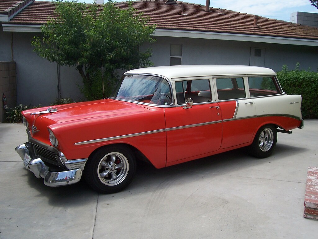 All Chevy 1956 chevy nomad for sale : 1956 Chevrolet 210 Four Door Wagon Project Pictures - TriFive.com ...