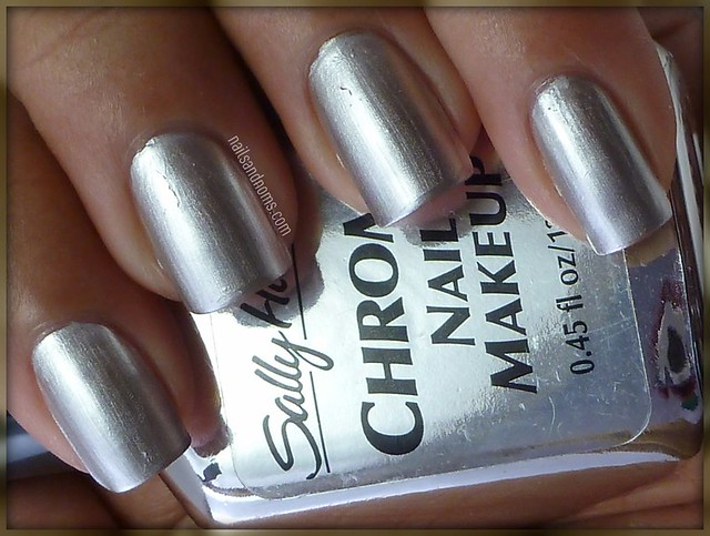 Day 8: Metallic Nails (Sally Hansen ...