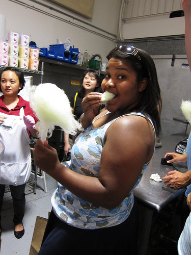 Cotton Candy Tasting with Tasty Clouds Candy Company