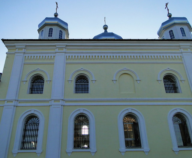 Meshchovsk.  Saints Peter and Paul Cathedral.  Monastery  of Saint George the Victorious . Kaluga Russia   52 19ok11_010