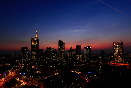 Frankfurt: Skyline from Next Tower/Treehouse