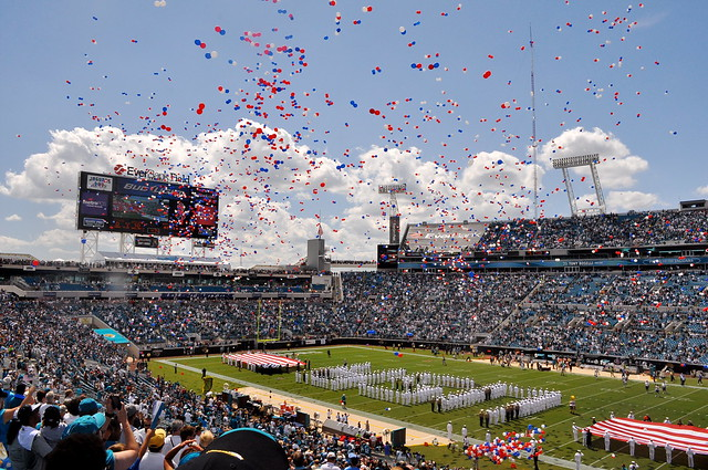 9/11 Tribute at Everbank Field