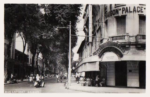 Saigon - rue Catinat -  Palace Hotel