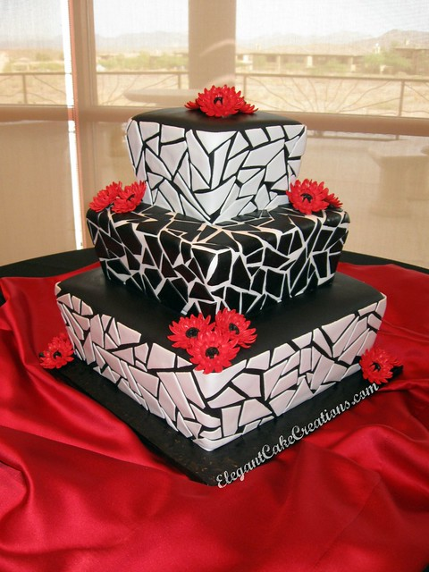 Still lots of black white and red weddings happening