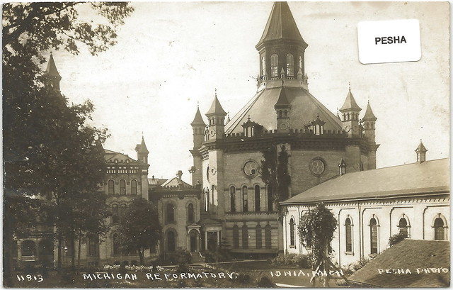 Sw Ionia Mi Pesha 1914 Rppc Michigan Reformatory For The