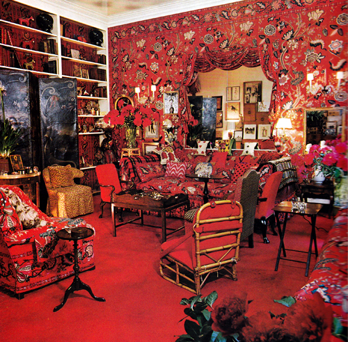 Diana Vreeland's living room by Need This Book