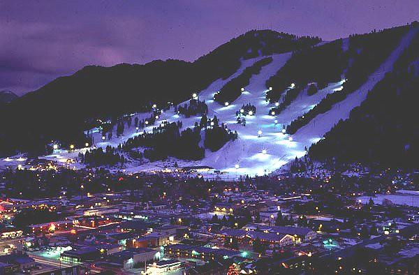 Night Ski courtesy Snow King Resort