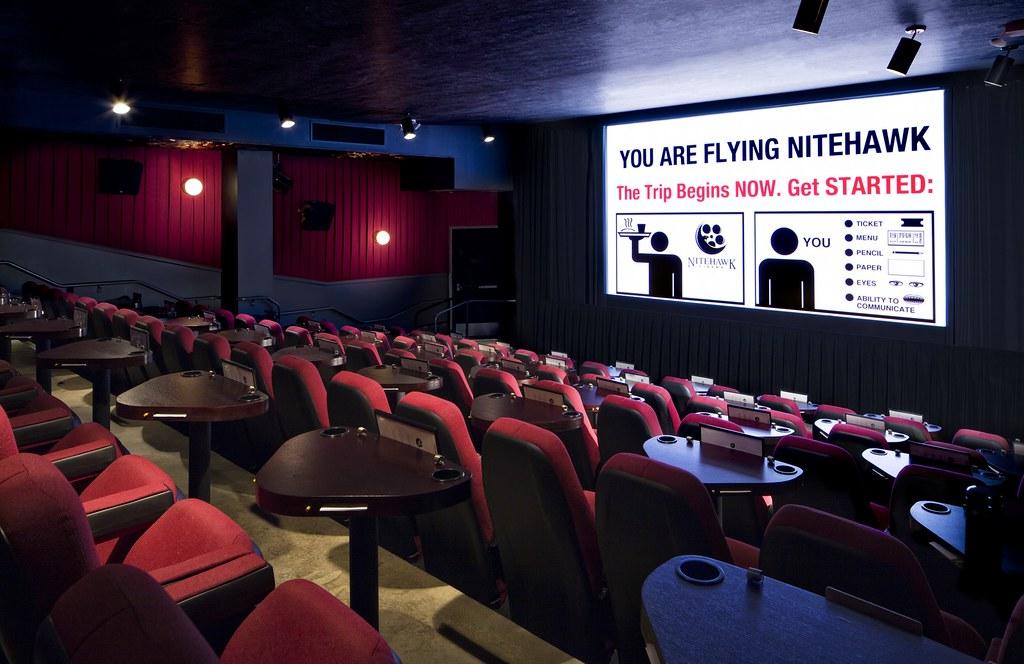 Theater 1 at Nitehawk Cinema