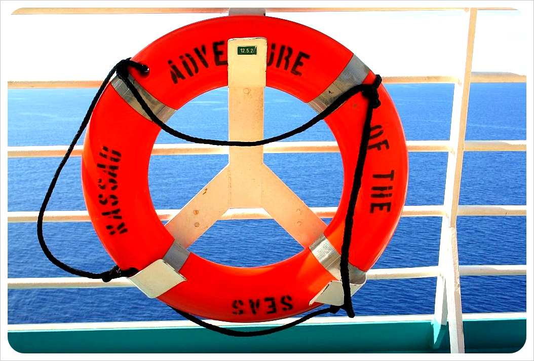 cruise ship life saver