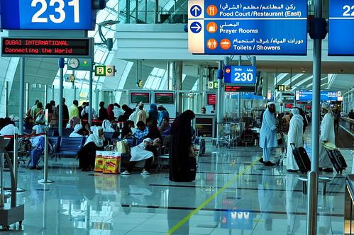 El aeropuerto de Dubai