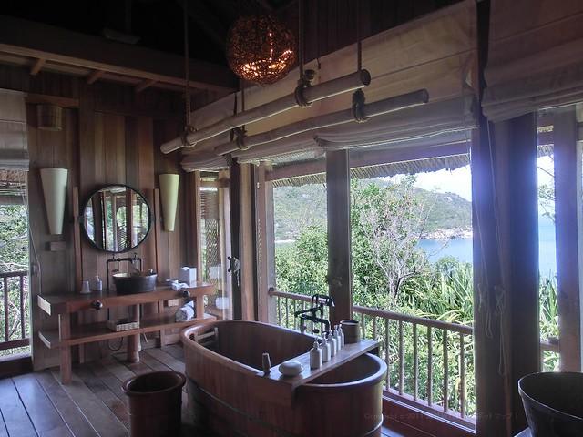 ヒルトップヴィラ - Hill Top Villa No.07 Six Senses Ninh Van Bay (シックスセンシズ ニンヴァンベイ)/ベトナム・ニャチャン(Nha Trang, Vietnam)bath room