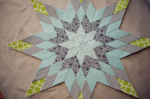 Pillow Talk Swap - finished star