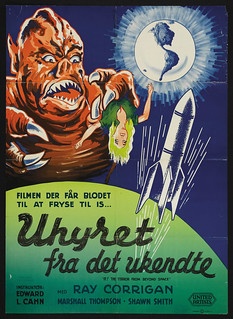 IT! THE TERROR FROM BEYOND SPACE (1958) Danish one sheet