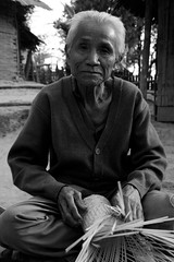 old man in Laos