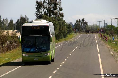 Tur Bus | Ruta 45 Ovalle | Busscar Jum Buss 380 / BHYC88