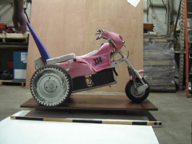 Little Pink Trike Rotating Movie