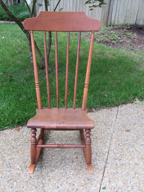 Vintage Armless Rocking Chair  Flickr - Photo Sharing!