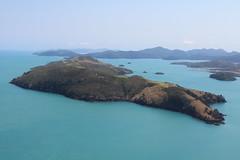 lagoon, archipelago, cape, sea, ocean, headland, bay, island, body of water, promontory, shore, terrain, coast, islet, cliff,