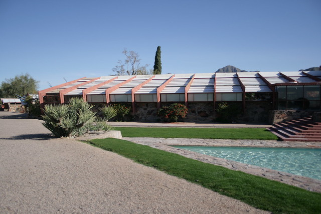 Design Study: Taliesin West. Scottsdale, Arizona. Frank Lloyd Wright.