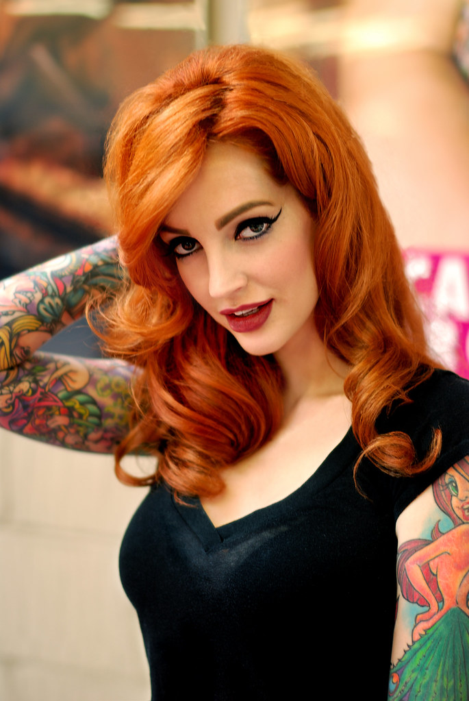 Vanessa lake inked tattoo girl think, that