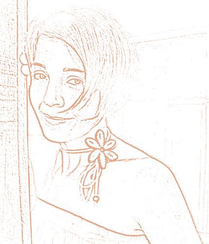 Retrato Minimalista by Daniel Vinhas - Desenhos e Rabiscos