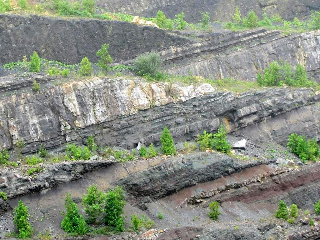 Rock Strata, Pound Gap