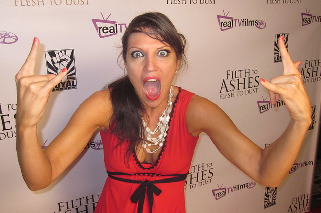Camille Solari, Filth To Ashes Flesh To Dust Premiere