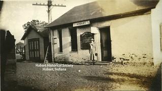 Nickel Plate Depot ca. 1920