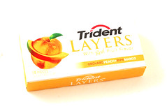 Trident Layers Orchard Peach Mango