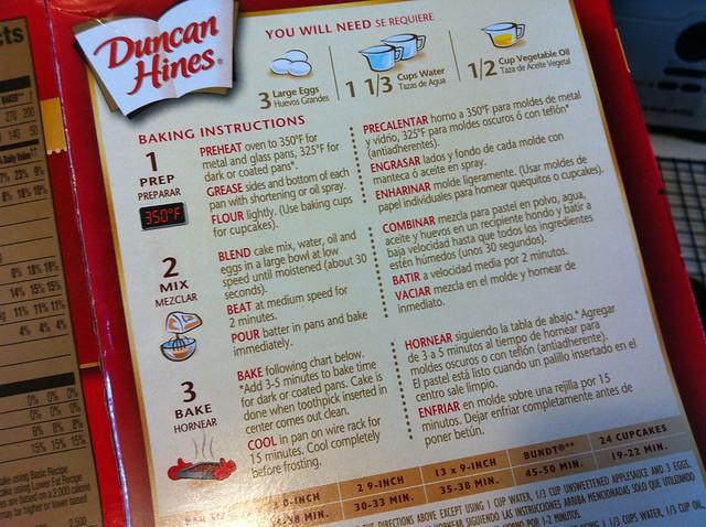 Duncan Hines Cake Mix Sizes