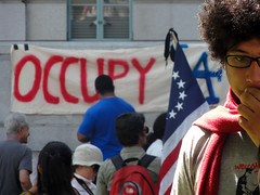 #OccupyLA protest at Los Angeles City Hall