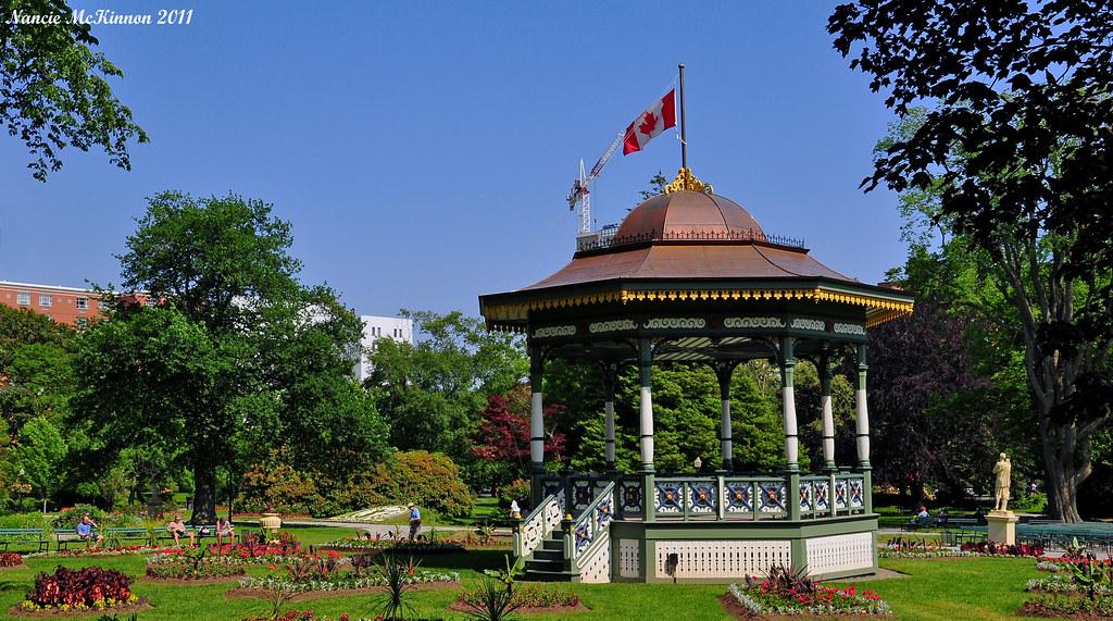 Bandstand, Halifax Public Gardens, Nova Scotia