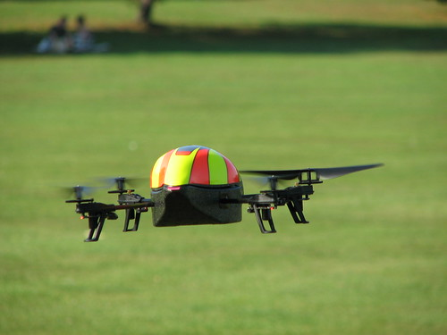 AR.Drone In The Park