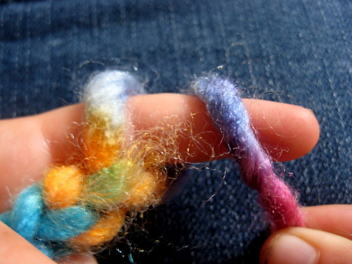 Finger Knitting For Kids : How to finger knit a brooch