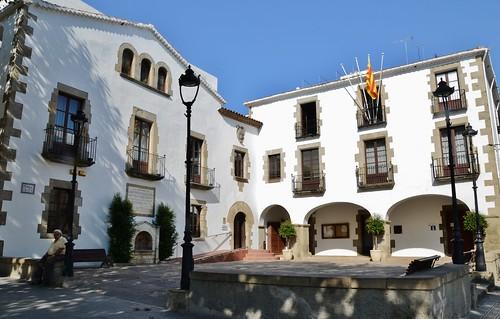 Ajuntament a la Plaça de la Vila, Arenys de Mar, Maresme -1443