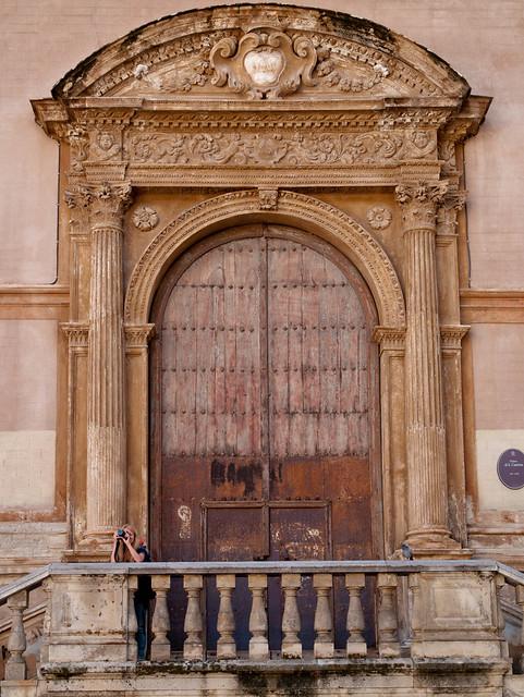 Porta della chiesa di santa caterina palermo flickr - Porte a palermo ...
