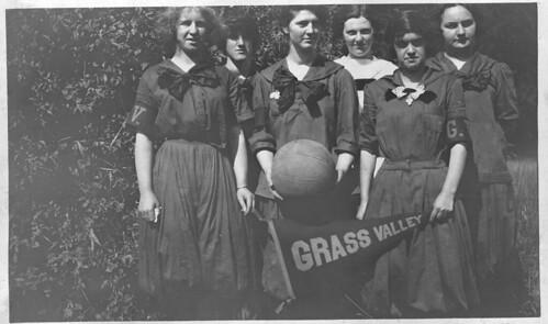 Grass Valley High 1918