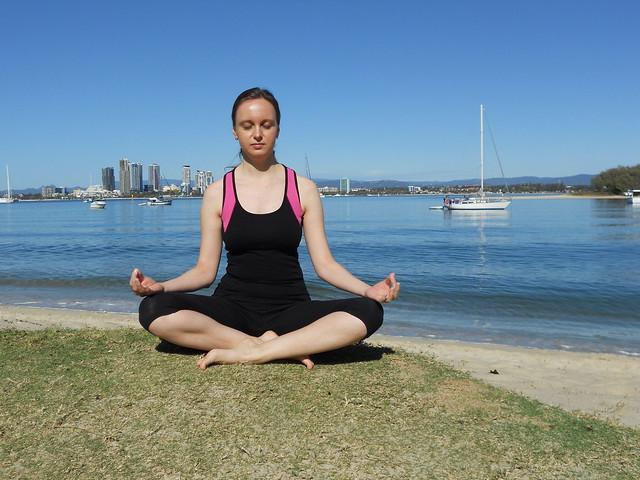 Meditation Pose - Easy Pose - Sukhasana