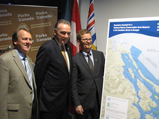 Parks Canada and BC Parks discuss proposed boundary