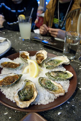 Tarragon and Casino, Hog Island Oyster Co., Ferry Building Marketplace, San Francisco