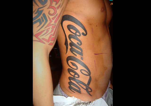 Coca cola tattoo flickr photo sharing for Best tattoo shops in brooklyn