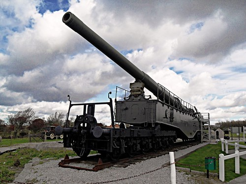 Krupp Railway Gun