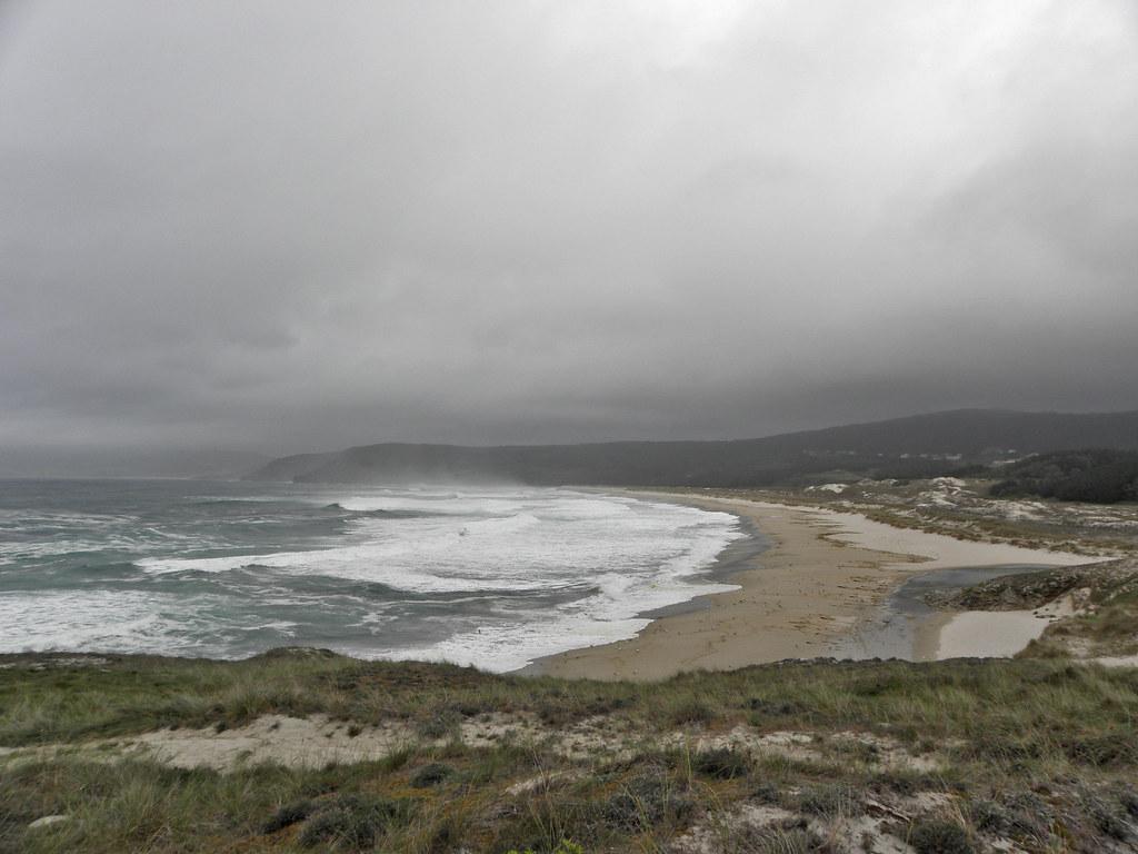 Praia do Rostro, Fisterra