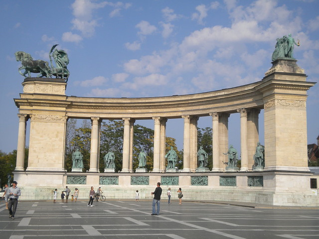 Millenniumi emlékmű en Budapest
