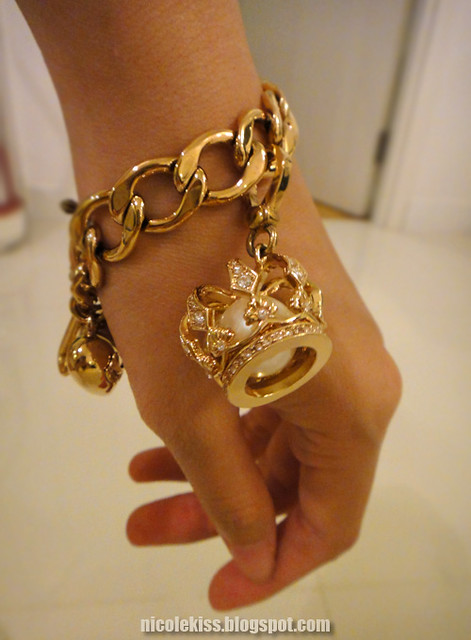 juicy couture crown charm and bracelet flickr photo