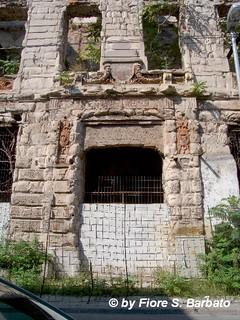 Mostar [BiH], 2011, tracce di guerra.